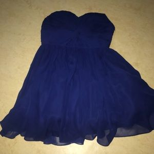 Dresses & Skirts - strapless homecoming dress.